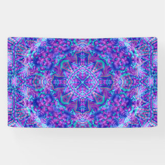 Purple And Blue Pattern    Banners, 4 sizes