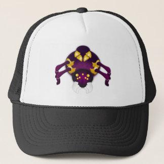 Purple and Gold Spider Trucker Hat