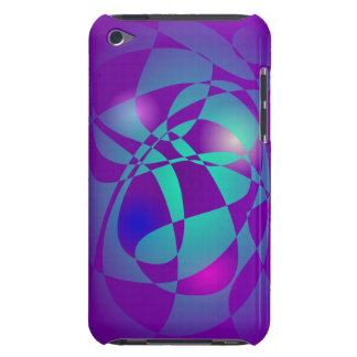 Purple and Green 2 iPod Touch Covers