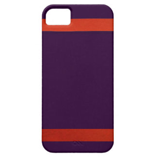 Purple and Orange -Design 1 iPhone 5 Case
