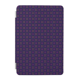 Purple and Orange School Spirit Sports Team iPad Mini Cover