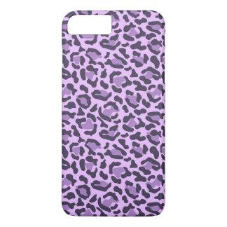 Purple animal print pattern iPhone 7 plus case