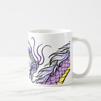Purple Asian Dragon Coffee Mug