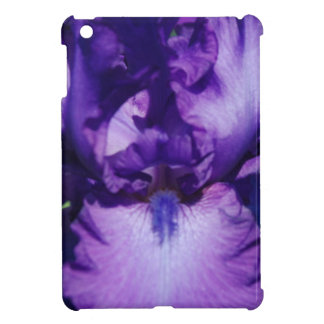 Purple Bearded Iris iPad Mini Cases