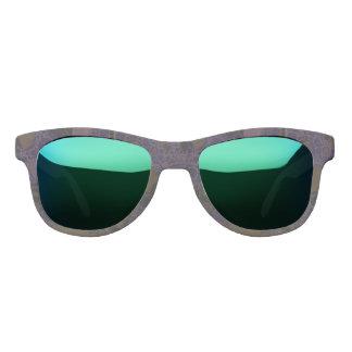 Purple Black Brown Abstract Sunglasses