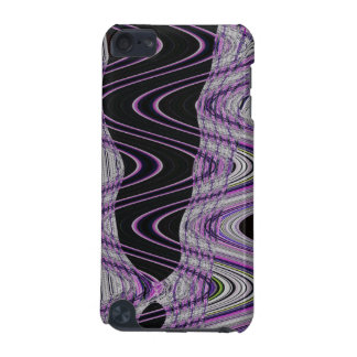 purple black wild abstract art iPod touch 5G covers