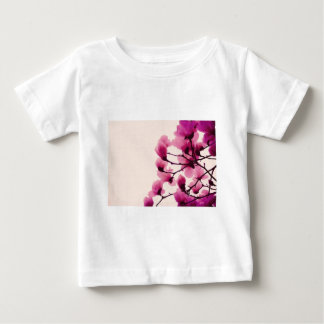Purple Blossoms Baby T-Shirt