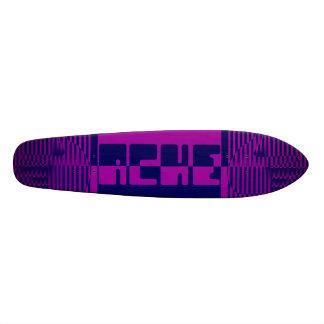 purple-blue ache skateboard