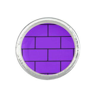 Purple Bricks Pattern Structure