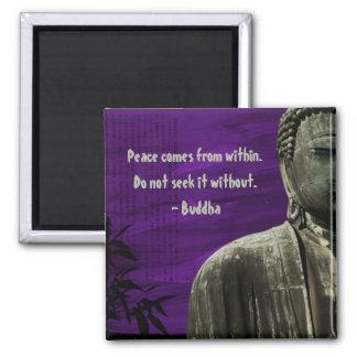 Purple Buddha Magnet Customizable