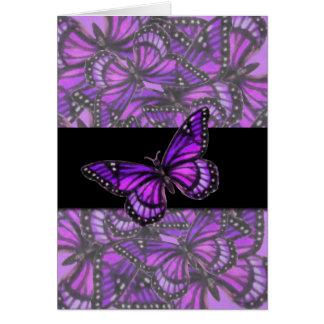 Purple Butterflies Greeting Cards