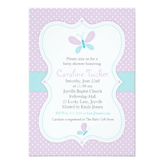 custom turquoise butterfly invitations announcements