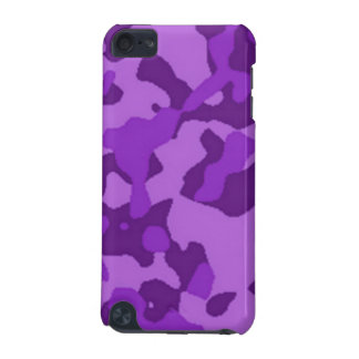 Purple Camouflage iPod Touch (5th Generation) Case