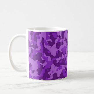 Purple Camouflage Mugs