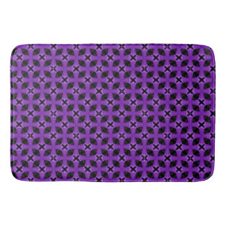 Purple Celtic Cross Bath Mat