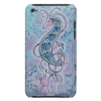 Purple Celtic Knot Sea Dragon iPod Case iPod Touch Covers