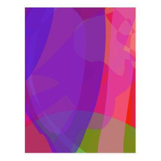 Purple Clam Postcards