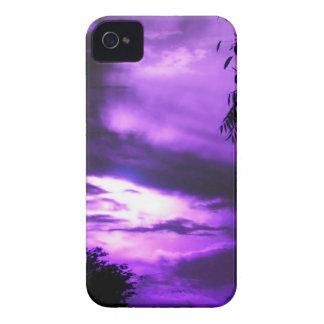 Purple Clouded Sky iPhone 4  case iPhone 4 Case-Mate Cases