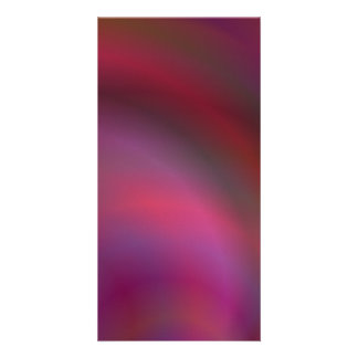 Purple colorful abstract photo card template