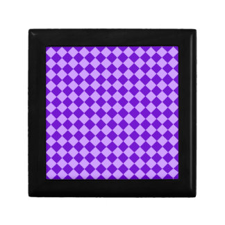 Purple Combination Diamond Pattern Gift Box