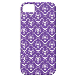 Purple Damask #5 @ Vintage Marie Case For The iPhone 5