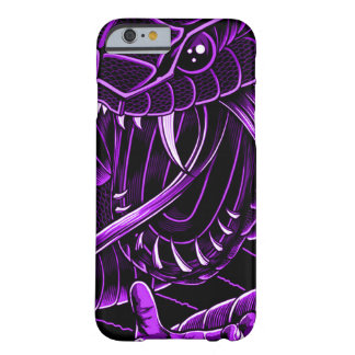 Purple Devil Serpent iPhone Barely There iPhone 6 Case