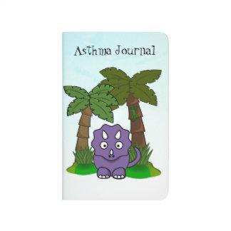 Purple Dino Asthma Journal