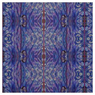 Purple Droplets Design Fabric