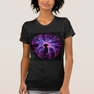 Purple Electricity Eminating from a Plasma Lamp T-Shirt