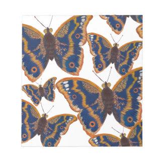 Purple Emperor Butterflies Notepad