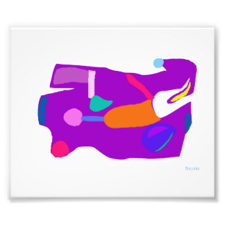 Purple Entity Art Photo