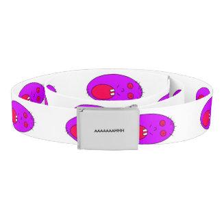 Purple face belt