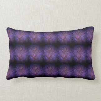 Purple Faeries Lumbar Pillow