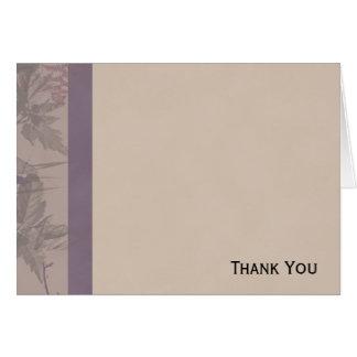 Purple Fern Riches Card
