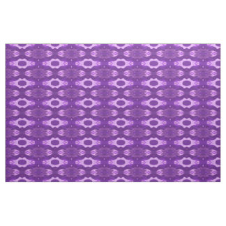 Purple flame abstract fabric