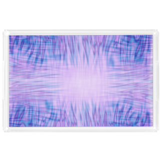 Purple Flames Acrylic Tray