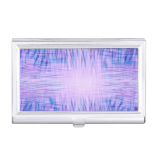 Purple Flames Business Card Holder