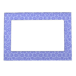 Purple Floral Custom Refridgerator Magnet Frame Magnetic Photo Frames