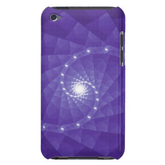 Purple Fractal Geometric Art Smartphone Case iPod Touch Cases