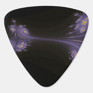 Purple Fractal Plectrum