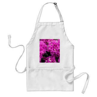 Purple Fuchsia Bougainvillea Background Standard Apron