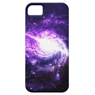 Purple Galaxy Barely There iPhone 5 Case