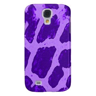 Purple Giraffe 3  Samsung Galaxy S4 Cover