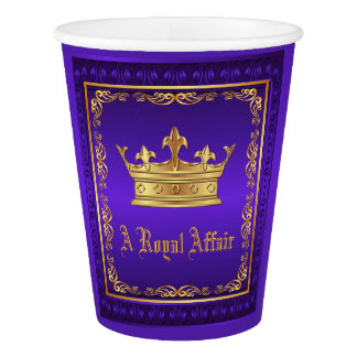 Purple Gold Crown Royal Party Event