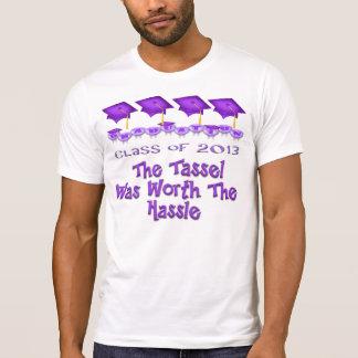 Purple Graduation Caps Shirts