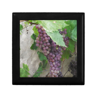 Purple Grapes on the Vine Gift Box