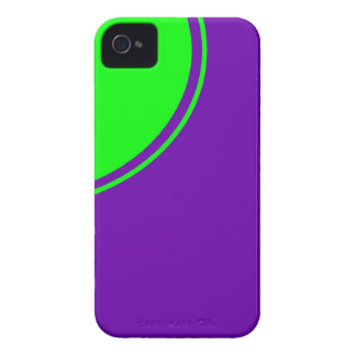 purple green circle iPhone 4 cover