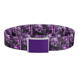 Purple Grunge Belt
