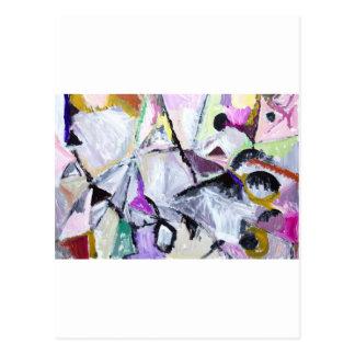 Purple Habitat of Native Wildcats (painting) Postcard