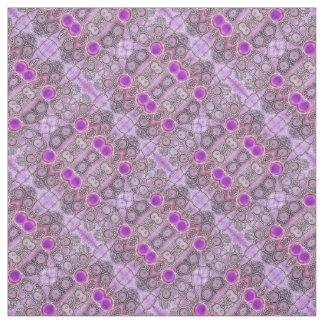 Purple Hamsa Fabric